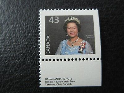 """CANADA STAMPS---#1358as  MINT 1994  .43c """"QE2"""" BOOKLET SINGLE BK155a"""
