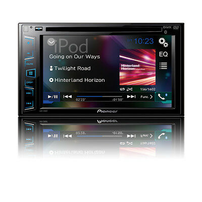 "Pioneer AVH-290BT Multimedia DVD Receiver with 6.2"" WVGA Display Bluetooth -Save"