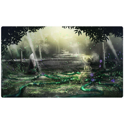FREE SHIPPING Custom Yugioh Playmat Black Garden Playmat