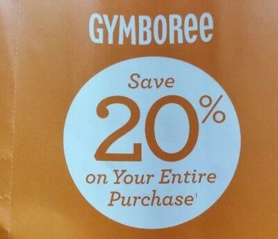 20 off gymboree coupon code 2018