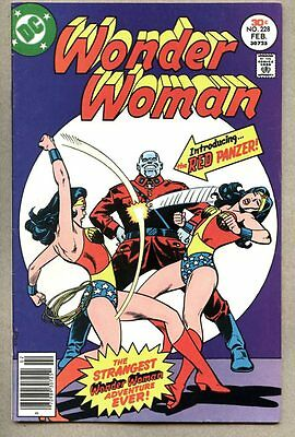 Wonder Woman #228-1977 fn+ Earth II Wonder Woman And Earth I WW team