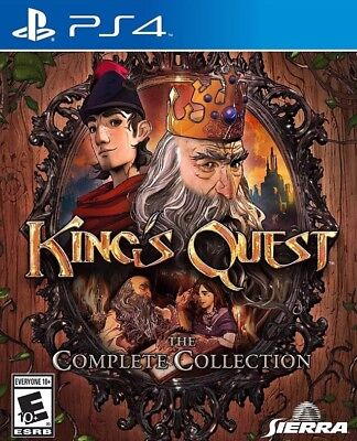 Playstation 4 Ps4 Game King's Quest The Complete Collection New And Sealed