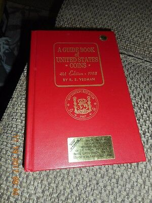 A Guide Book Of United States Coins 41St Edition -1988 By R.s.yeoman