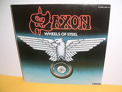 Lp - Saxon - Wheels Of Steel - Carrere 2934 124