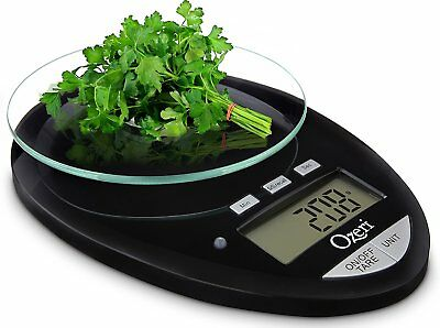 Ozeri Pro II Digital Kitchen Scale Removable Glass Platform Countdown 1g - 12lbs