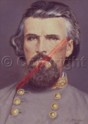 Art Civil War Nathan Bedford Forrest Limited Edition Highly Collectible