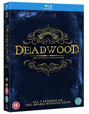 Deadwood The Complete Series Collection Blu-ray Boxset New