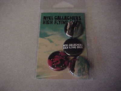 Noel Gallaghers High Flying Birds - Promo 4 button pack - sealed - NEW