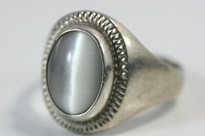 D359 Moonstone Sterling 925 Ring size 10 3/4