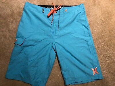 Hurley One & Only Boardshorts! Light Blue - 32 Waist