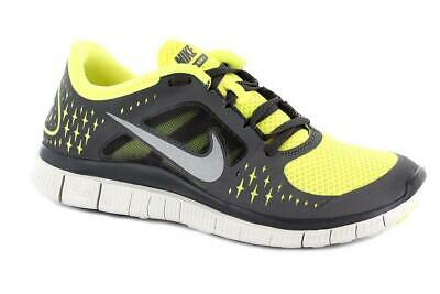 super popular a3c75 64a58 Femmes Nike Free Run + 3 Gris Basket Course 510643700