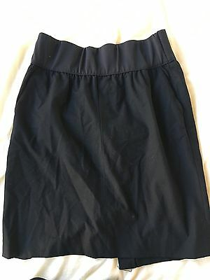 Gap Maternity Suit Skirt Size 0 Black NWOT