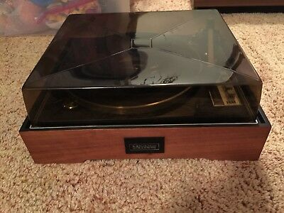 Vintage Elac Benjamin Miracord 50H Turntable Record Player