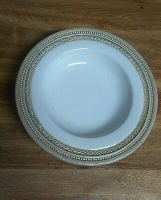 "WILLIAMS SONOMA CREAM  BEIGE 9.75"" LARGE RIMMED SOUP/PASTA BOWL Italy"