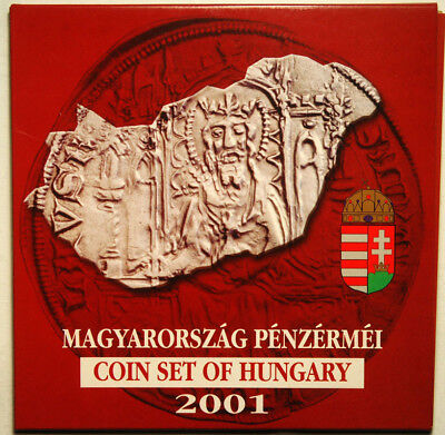 Hungary 7-Coin Proof Set 2001