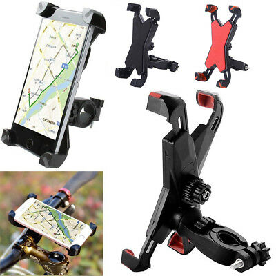 Motorcycle MTB Bike Bicycle Handlebar Mount Holder For Smartphone GPS Universal
