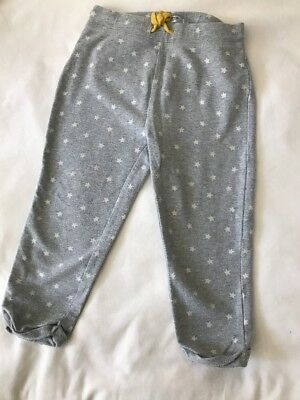 Baby Mini Boden Boy Or Girl Gray Pants Stars Toddler Size 2-3 Years