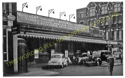 Woolwich Arsenal Railway Station Photo. Charlton - Plumstead. Greenwich Line (6)