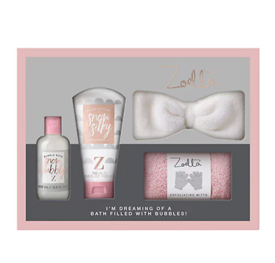 Zoella Im Dreaming of a Bath Filled with Bubbles - Christmas 2017 Range Gift Set