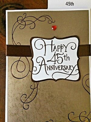 FAMILY  HALLMARK Choice 12 56A 10TH WEDDING  ANNIVERSARY CARD for FRIENDS