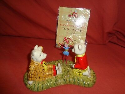Royal Doulton The Imp Of Spring Figure Rb15 Rupert The Bear Series M.i.b