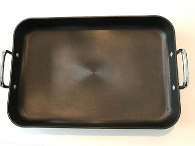 Circulon Momentum Hard-Anodized Nonstick 18-Inch x 12-Inch Roaster pan Used