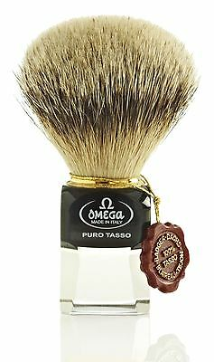 Omega 632 Silvertip Badger Hair Shaving Brush