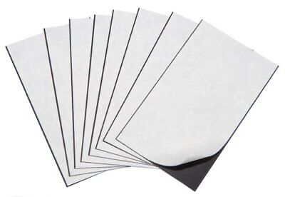 """Marietta Magnetics - 25 Magnetic Sheets of 4"""" x 6"""" Adhesive 20 mil"""