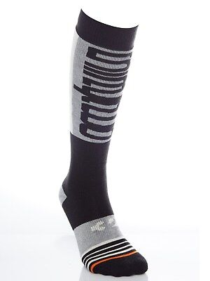 ThirtyTwo Black Double Snowboarding Socks
