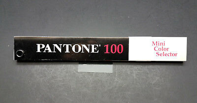 Pantone 100 Mini Color Selector Ctd. & Unctd.