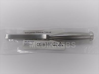 """Smith Peterson Osteotome 11 mm CVD Surgical Instrument German Steel """"KREBS"""""""