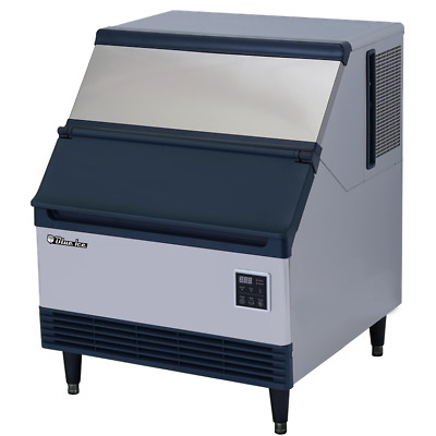 Commercial Undercounter Ice Maker 250 Lbs Daily with Storage Bin