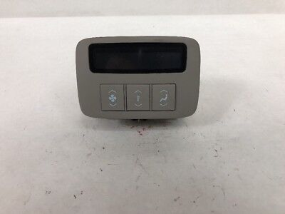 Oem 2006 2011 Cadillac Dts Rear Seat Climate Control A C Ac
