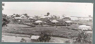 Vintage Press Photo  1942 A VIEW OF LAE  NEW GUINEA   # 728