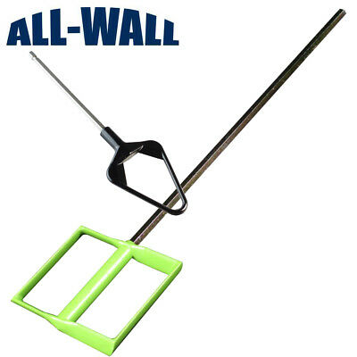 Mixer Set for Drywall Mud, Paint - Large Paddle + Blade for Mud Pan / Quart Can