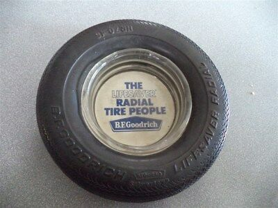 BF Goodrich Silvertown LifeSaver Radial Tire Ashtray HR70-15