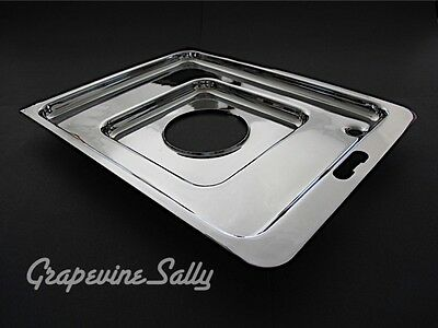Gaffers & Sattler Vintage Stove Parts 1 NEW CHROMED Griddle Support Drip Tray