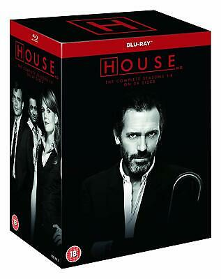 House M.D MD The Complete Series Collection Blu-ray Boxset Hugh Laurie New