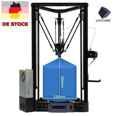 ANYCUBIC 3D Drucker UPGRADE Kossel Plus Linear Auto-Nivellierung φ230x230x300mm