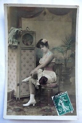 Ancienne Carte Postale / Photo  Erotique / 1911