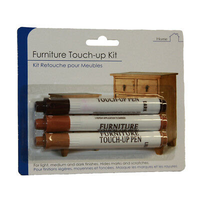 Furniture Touch Up Pen Markers to repair Laminate Wood Floor Scratches Nicks