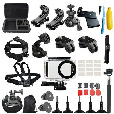 50Pcs Accessories Full Protection Kit for Xiaomi Mijia 4K Action Camera Reliable
