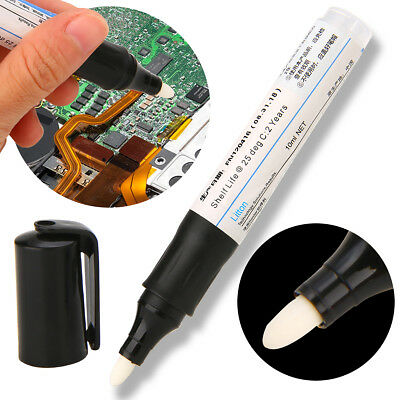 10ml Soldering Rosin Flux Pen Non Clean Non Corrosive PCB Repairs SMD Rework Pen