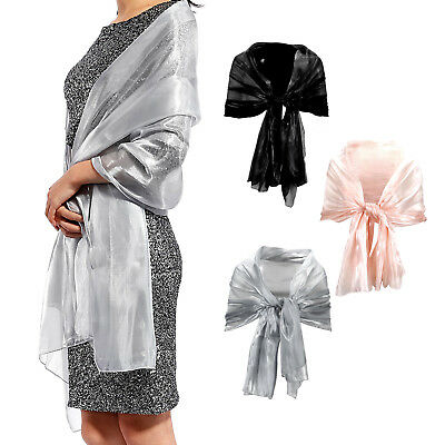 Beautiful Long Wrap Shawl Stole For Weddings Bridal/Evenings