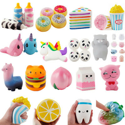Animals Jumbo Squishy Squeeze Relieve Stress Slow Rising Kid Toy Decor Gift