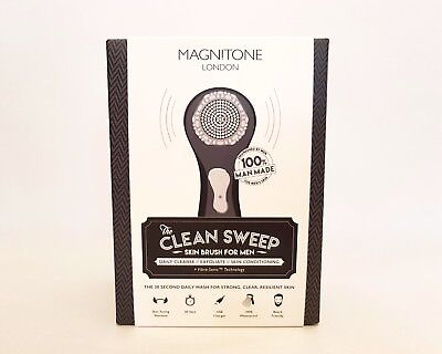 Magnitone Clean Sweep Facial Skin Brush for Men