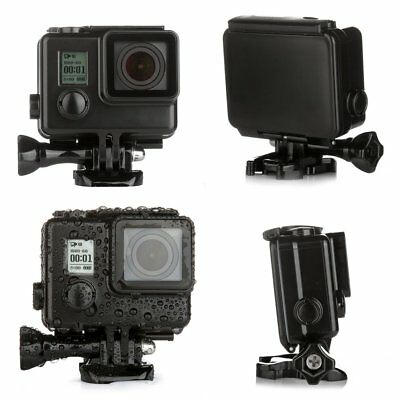 For GoPro HD Hero 3 3+ 4 Waterproof Underwater Diving Hard Housing Case in Black