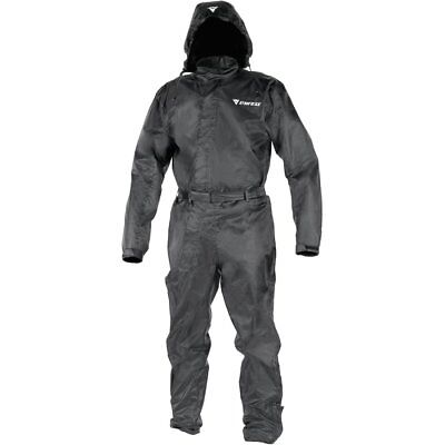 Dainese D-Crust Black Waterproof Rain Suit - Motorcycle Bike Riding Rain Suit
