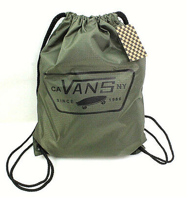 Vans Unisex Turnbeutel MN League Bench Bag Grape Leaf olivgrün Beuteltasche NEU