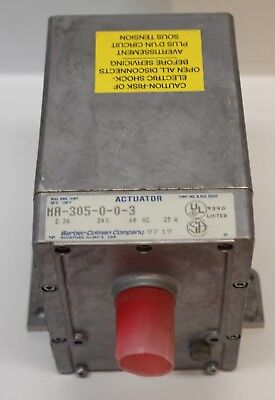 MA-305-0-0-3 BARBER-COLMAN OIL SUBMERGED ACTUATOR 24v New Old Stock